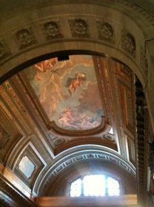 The New York Public Library's Rotunda ceiling:  Prometheus bringing the gift of fire