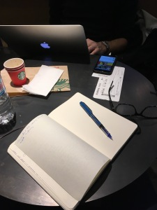 Writing at Ataturk Airport